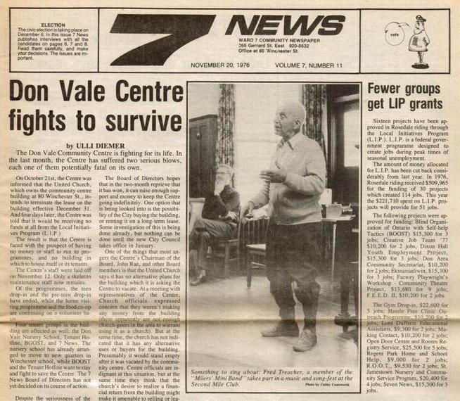 Seven News, Volume 7, Number 11, November 20, 1976