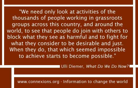 Ulli Diemer: People do join with others