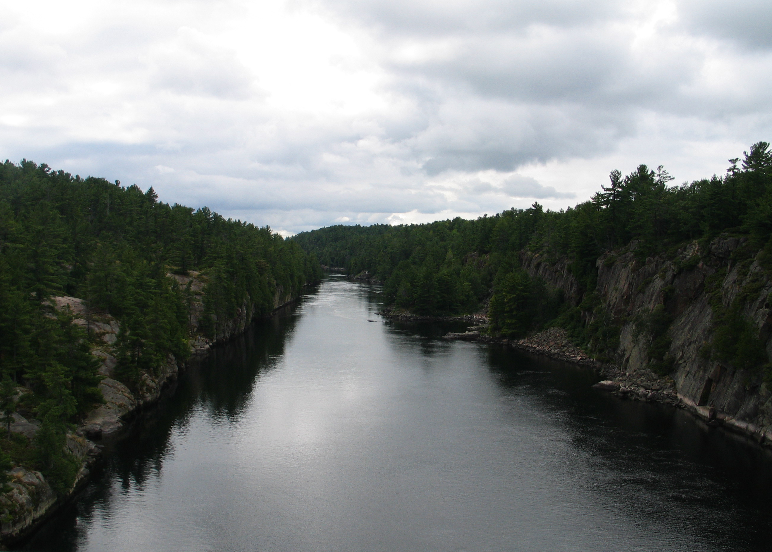 French River. Photo by Ulli Diemer.